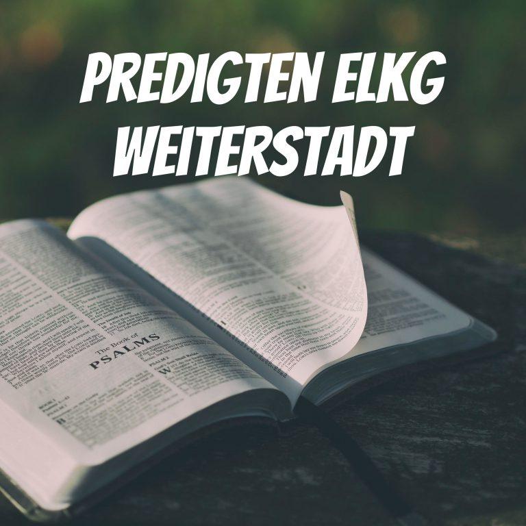Zurück zu den Basics (2. Timotheus 1, 6-12) – Jakob Kress
